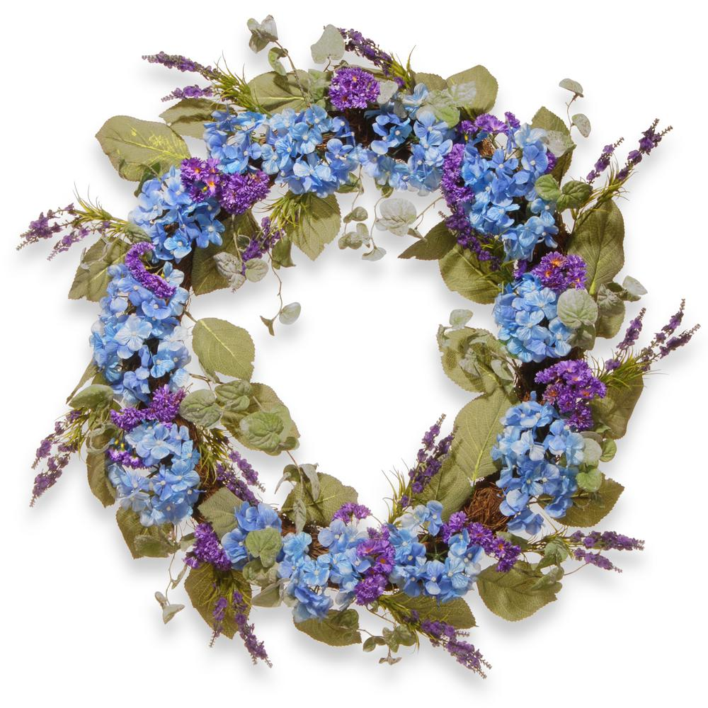 National tree company 32 in purple spring wreath ras aw030208a purple spring wreath izmirmasajfo