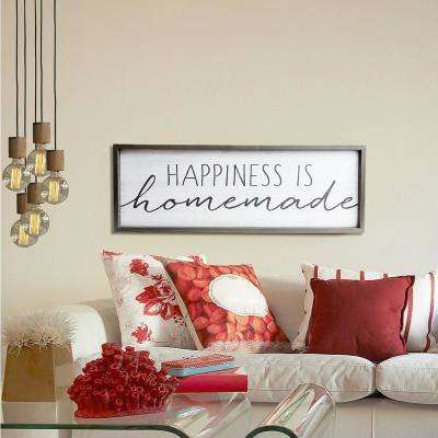 Happiness is Homemade Rustic Wood Decorative Sign