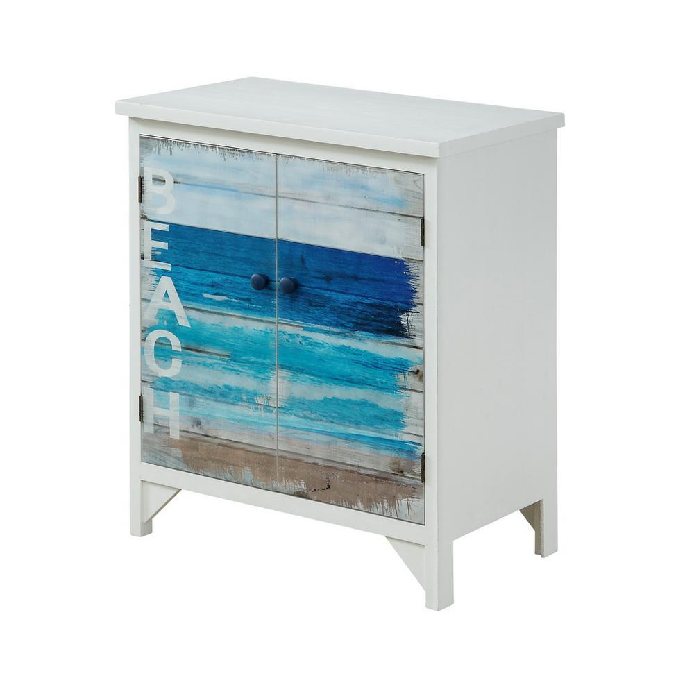 Pirates Cove Multicolor 2-Door Cabinet