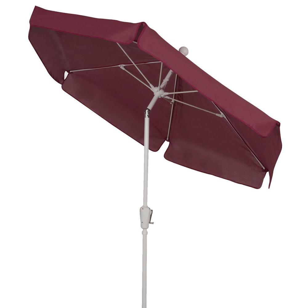 7.5 ft. Patio Umbrella in Burgundy