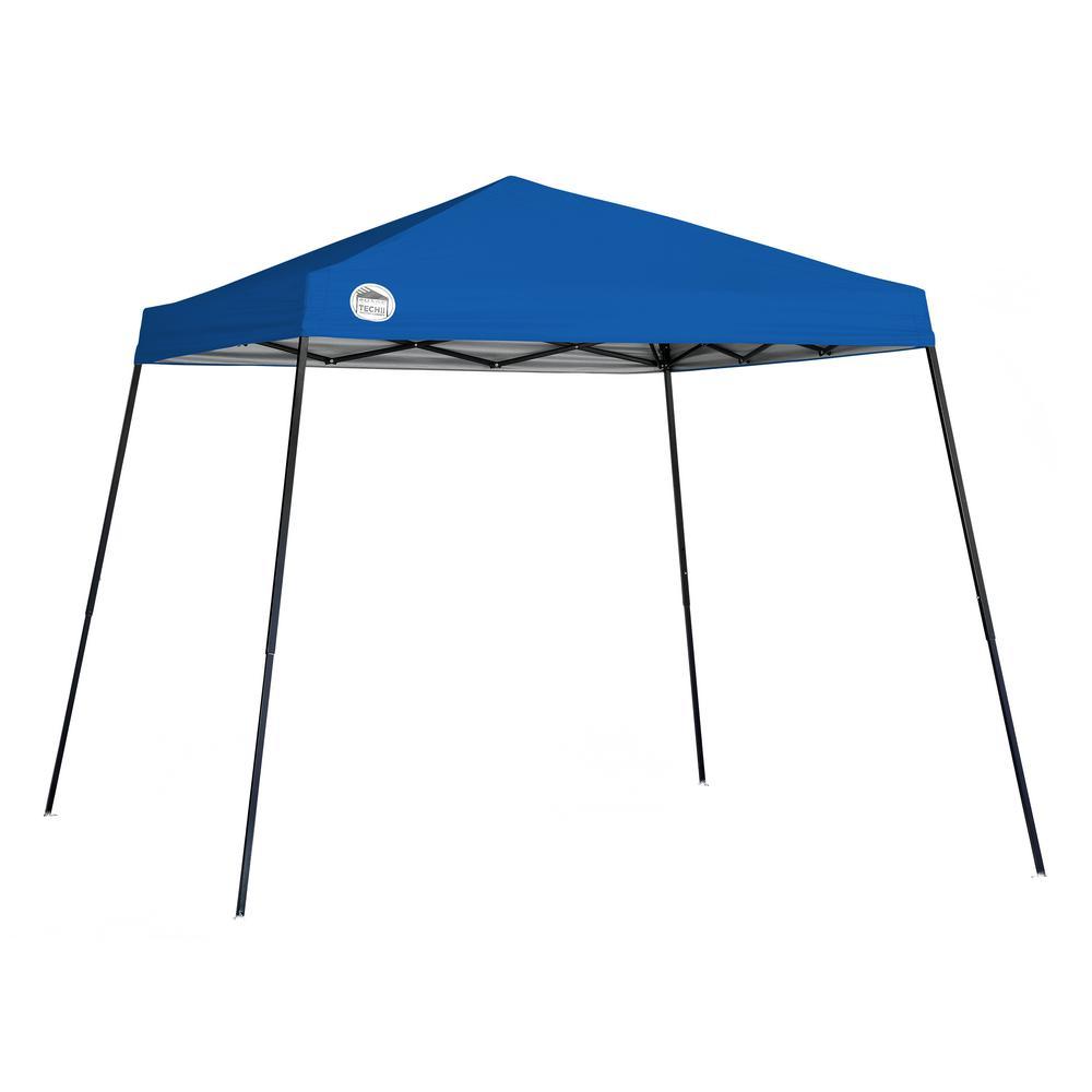 ST56 10 ft. x 10 ft. Blue Slant Leg Canopy