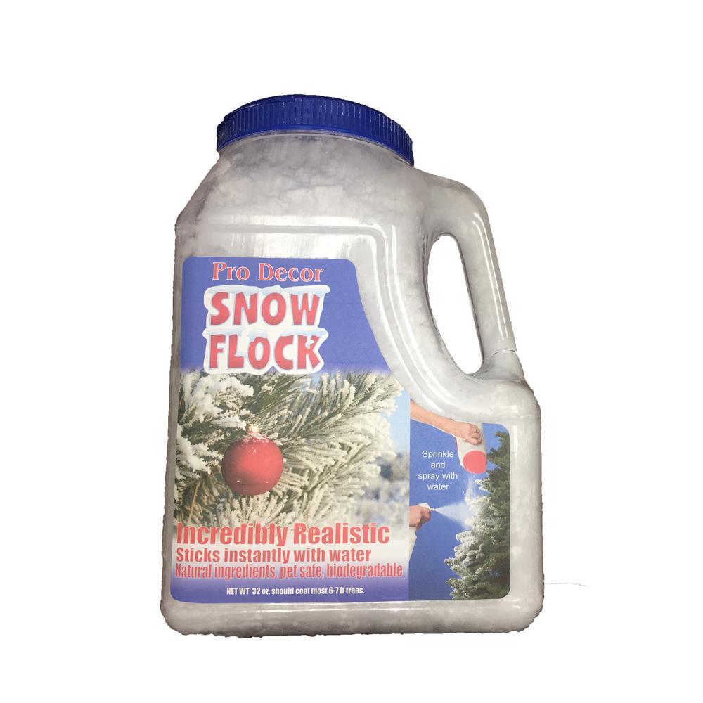 2 Lbs Large Snow Flock Flk Decorlg The Home Depot