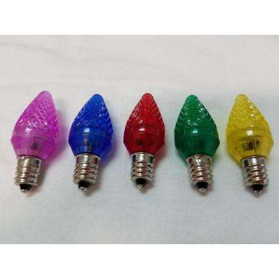 C7 Color-Changing LED Light Bulb (Pack of 25)