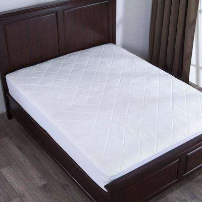 300-Thread Count Stain Resistant King Mattress Pad