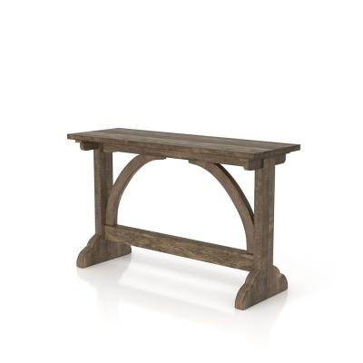 Hava 28.7 in. Reclaimed Oak Console Table