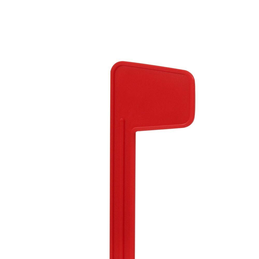 mailbox flag dimensions. Gibraltar Mailboxes Plastic Replacement Mailbox Flag Kit, Red Dimensions