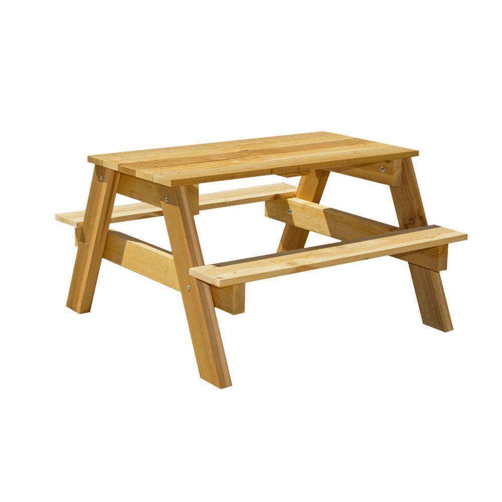 Houseworks 3 ft. Junior Cedar Picnic Table Kit