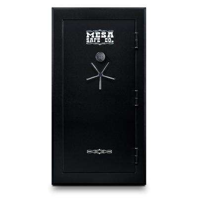 45-Gun Safe 60 Minute Fire Rating Electronic Lock, Black