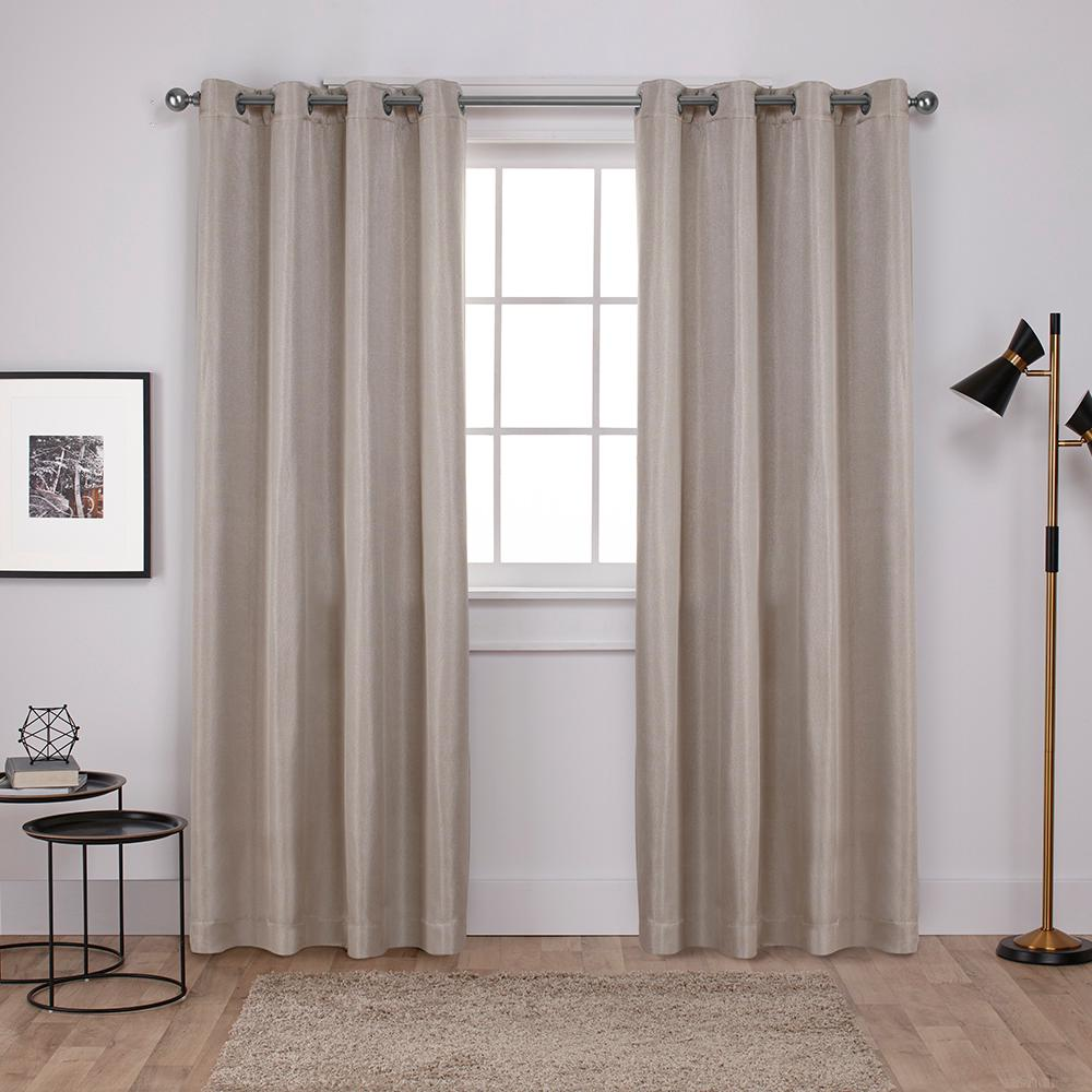 product panel garden flax aurora curtain belgian overstock linen curtains home shipping free today