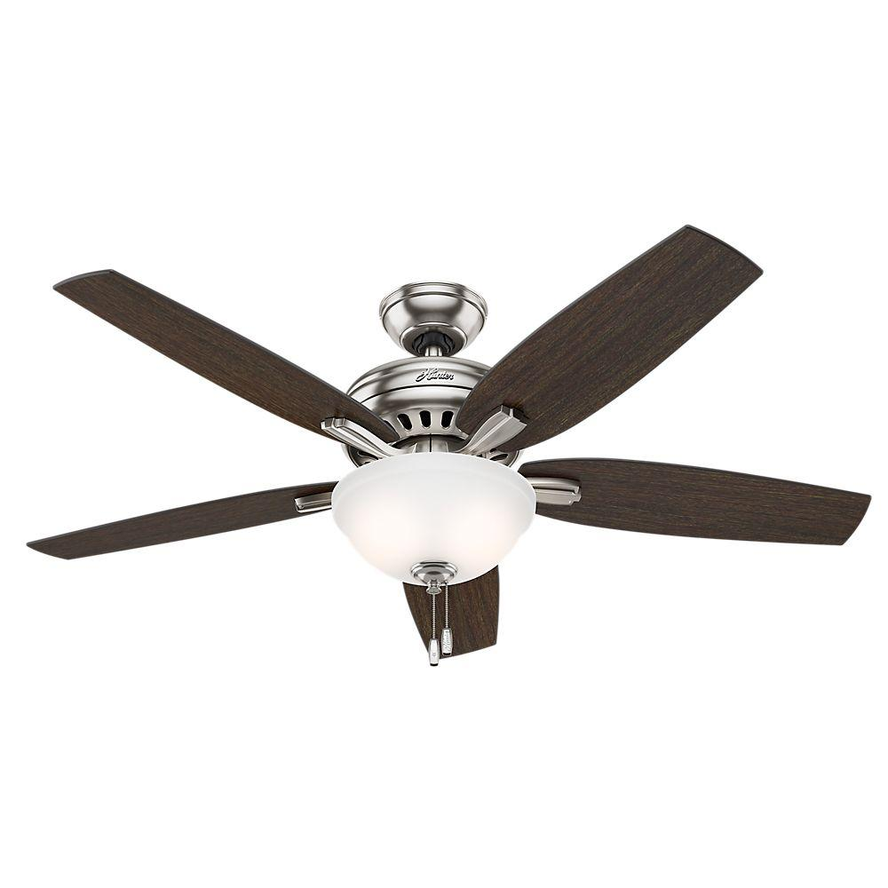 Hunter newsome 52 in indoor premier bronze bowl light kit ceiling indoor premier bronze bowl light kit ceiling fan 53311 the home depot aloadofball Image collections