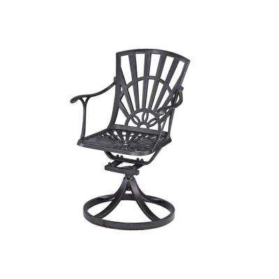 Largo Swivel Patio Chair with Cushions