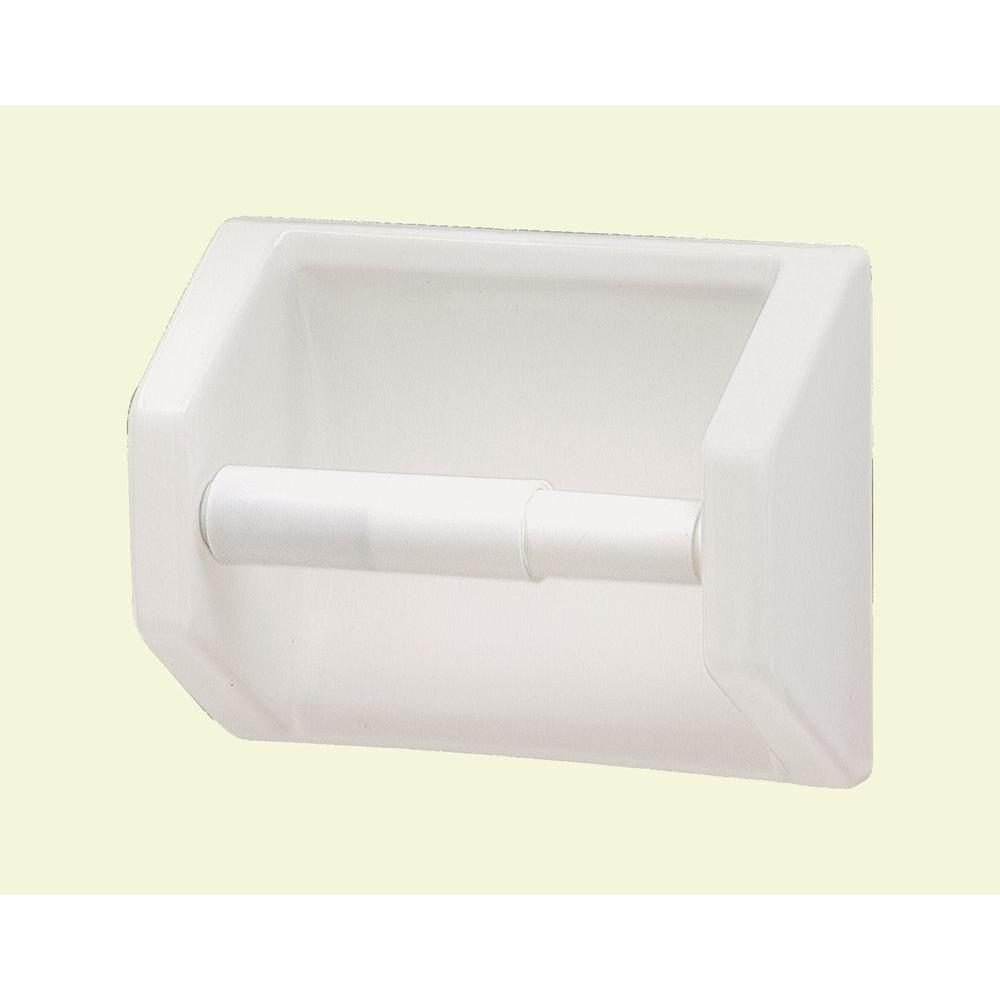 Lenape Toilet Paper Holder in White