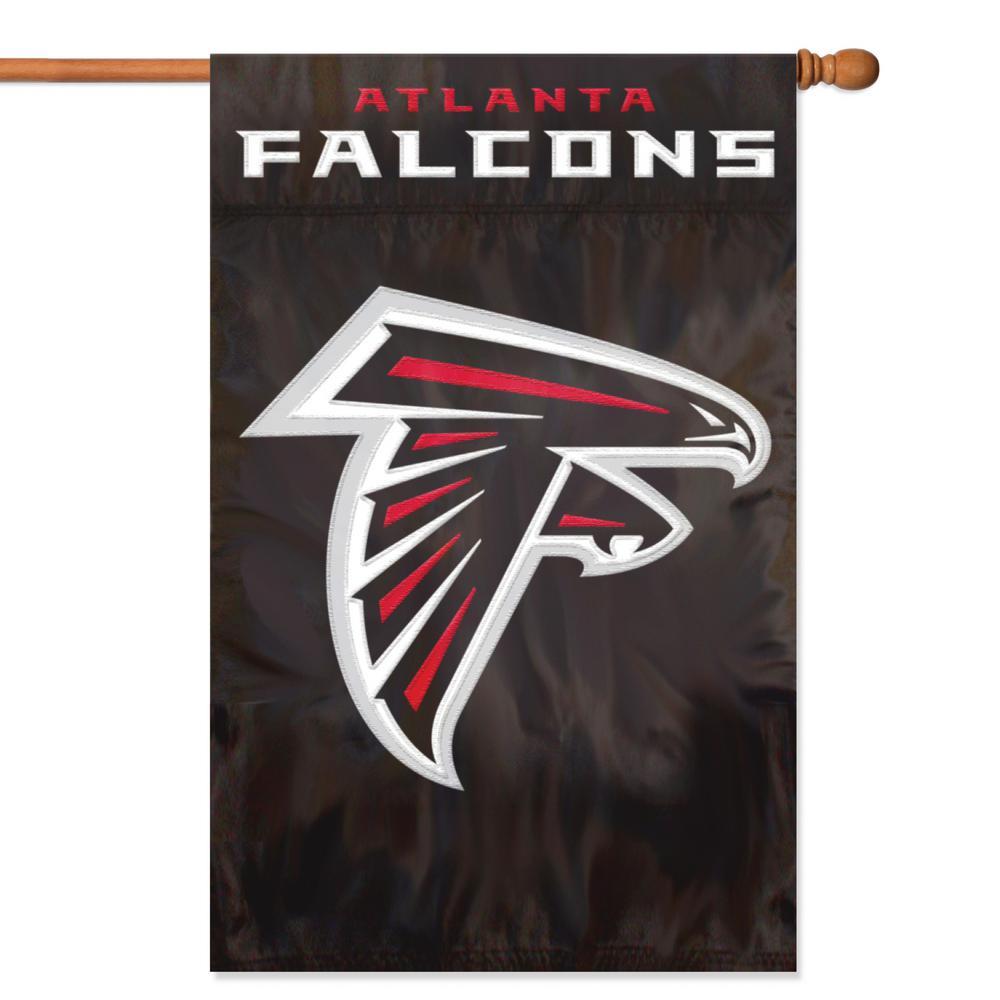 Atlanta Falcons Applique Banner Flag
