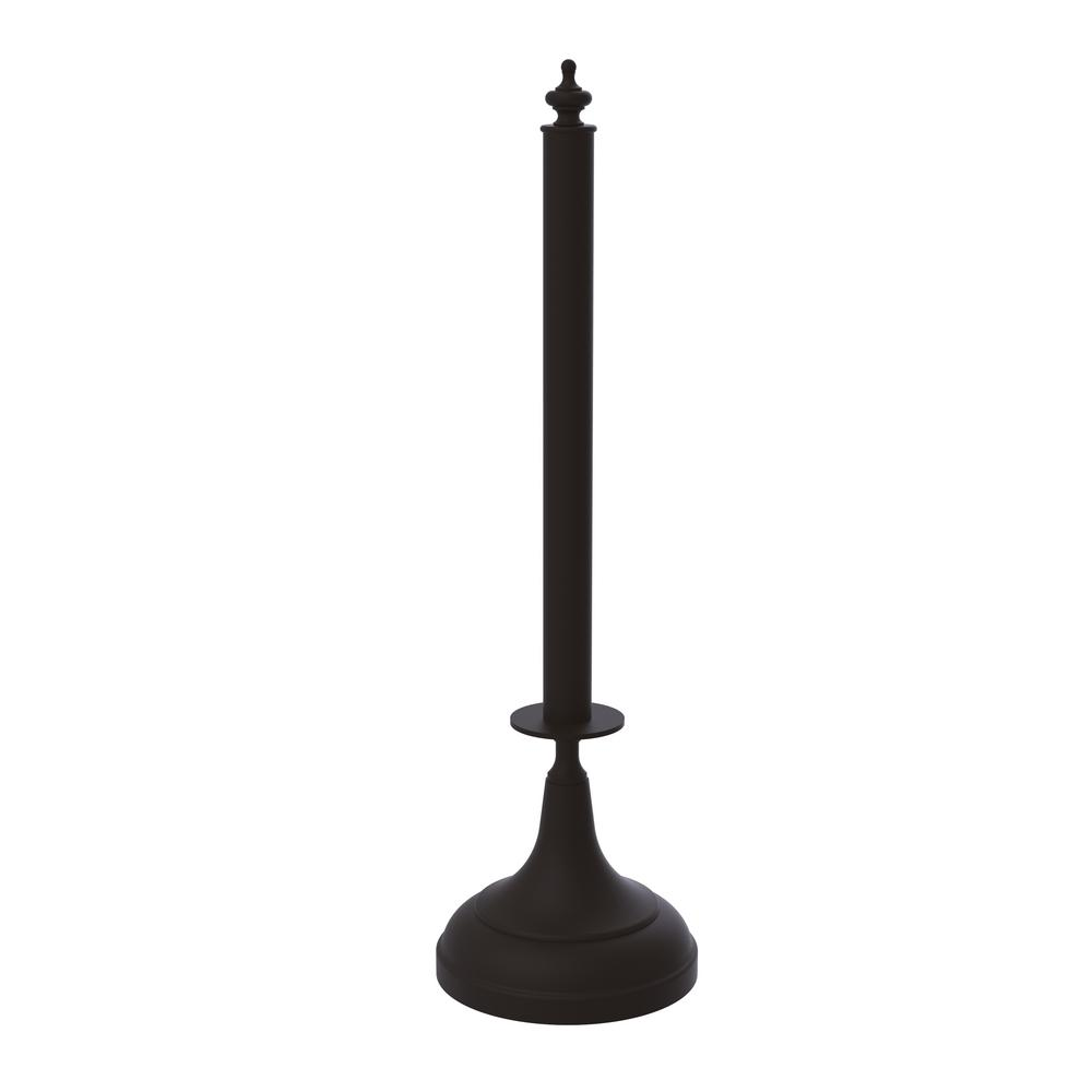 Allied Brass Traditional Counter Top Kitchen Paper Towel Holder in Oil Rubbed Bronze