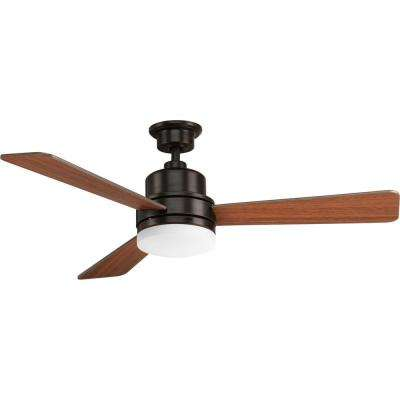 led antique bronze ceiling fan