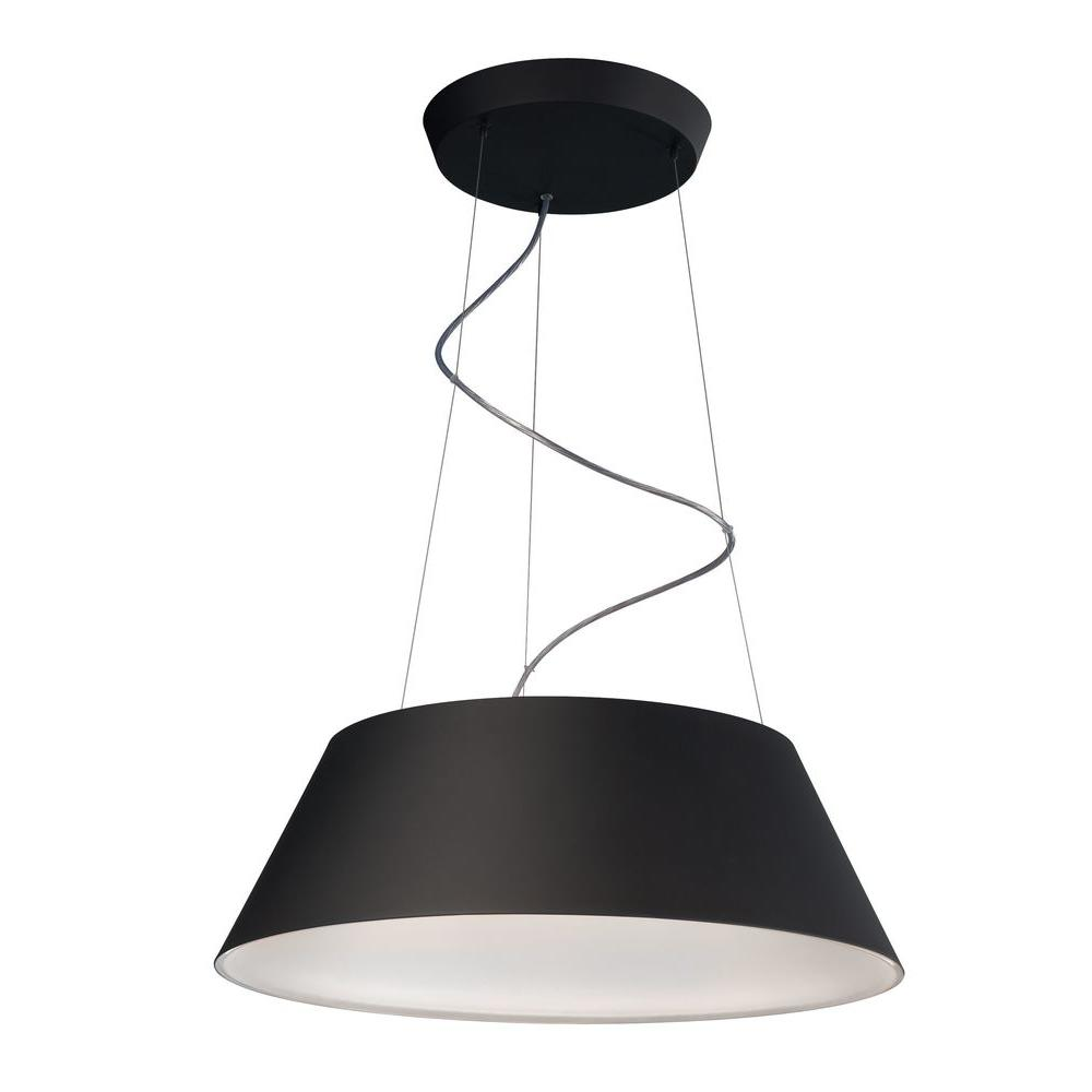 Philips cielo 24 light black hanging pendant 405503048 the home philips cielo 24 light black hanging pendant aloadofball Images