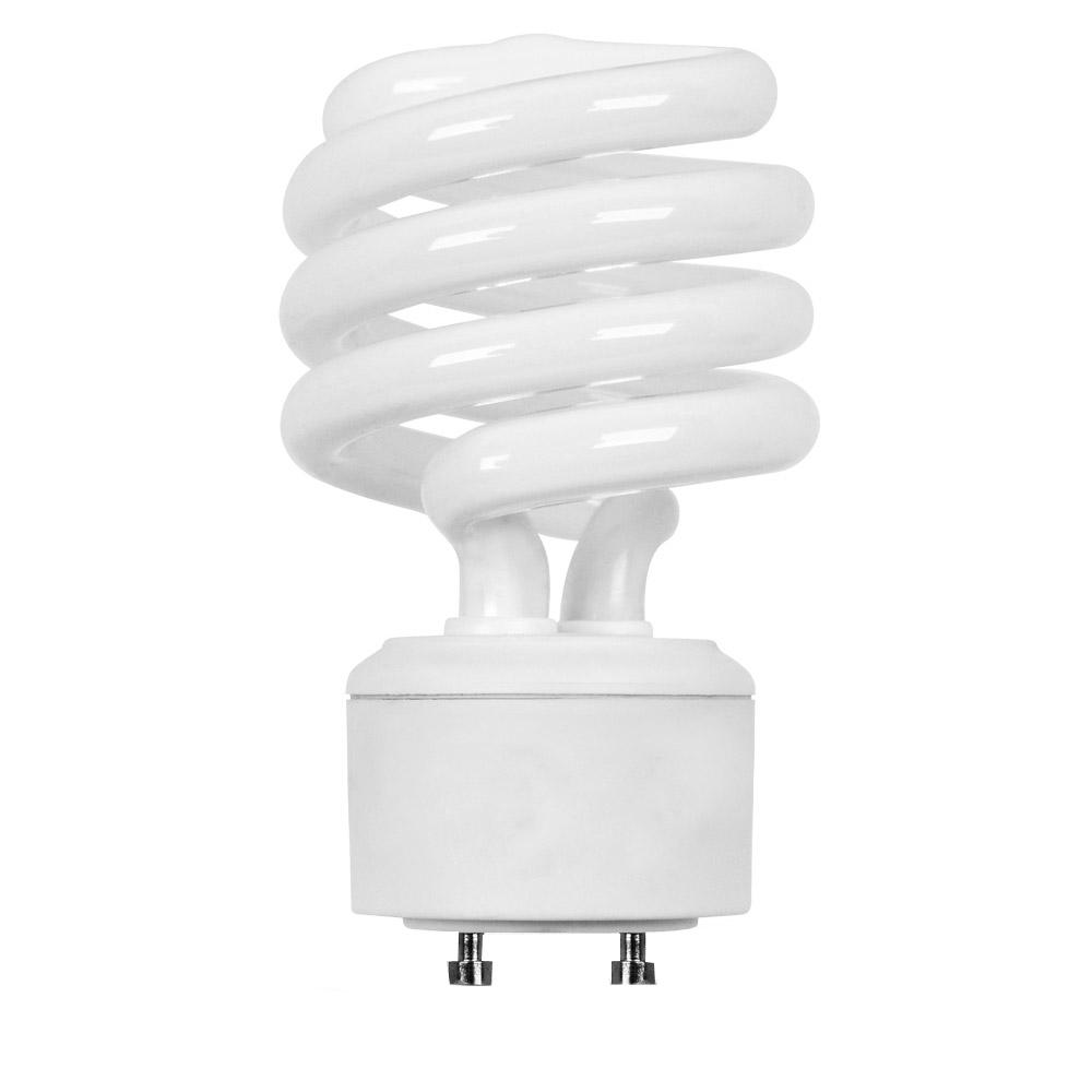 100w Equivalent Daylight 6500k Spiral Gu24 Cfl Light Bulb