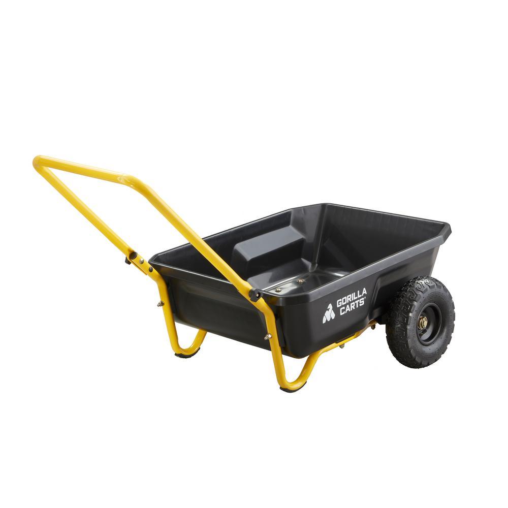 4 cu. ft. Poly Yard Cart