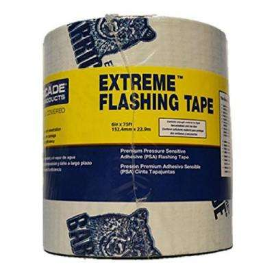6 in. x 75 ft. White Extreme Multi-Purpose Window and Door Flashing Tape