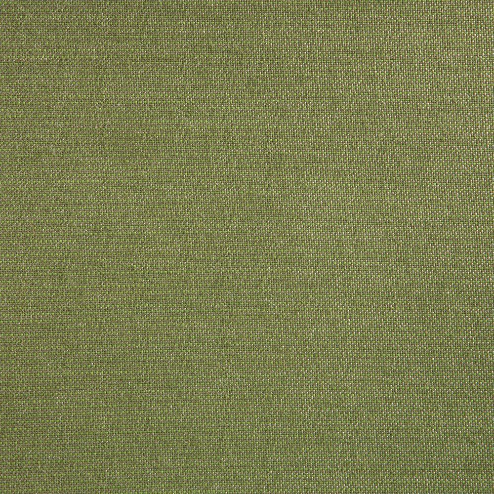 Edington Sunbrella Spectrum Cilantro Round Patio Ottoman Slipcover