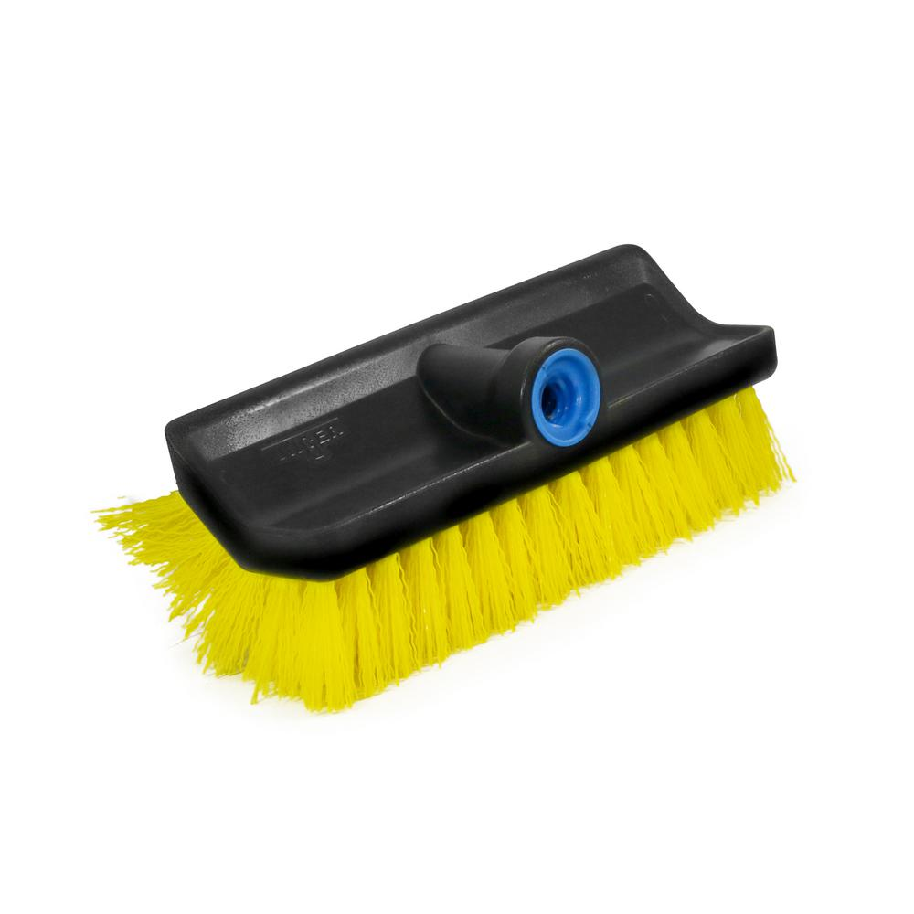 Unger Unger Lock-On Multi-Angle Scrub Brush, Black