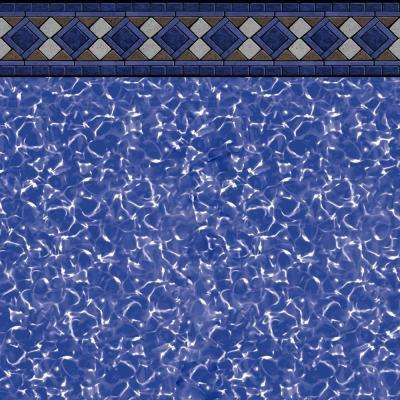 Grand Tile 52 in. Deep 21 ft. x 41 ft. Oval Unibead Pool Liner