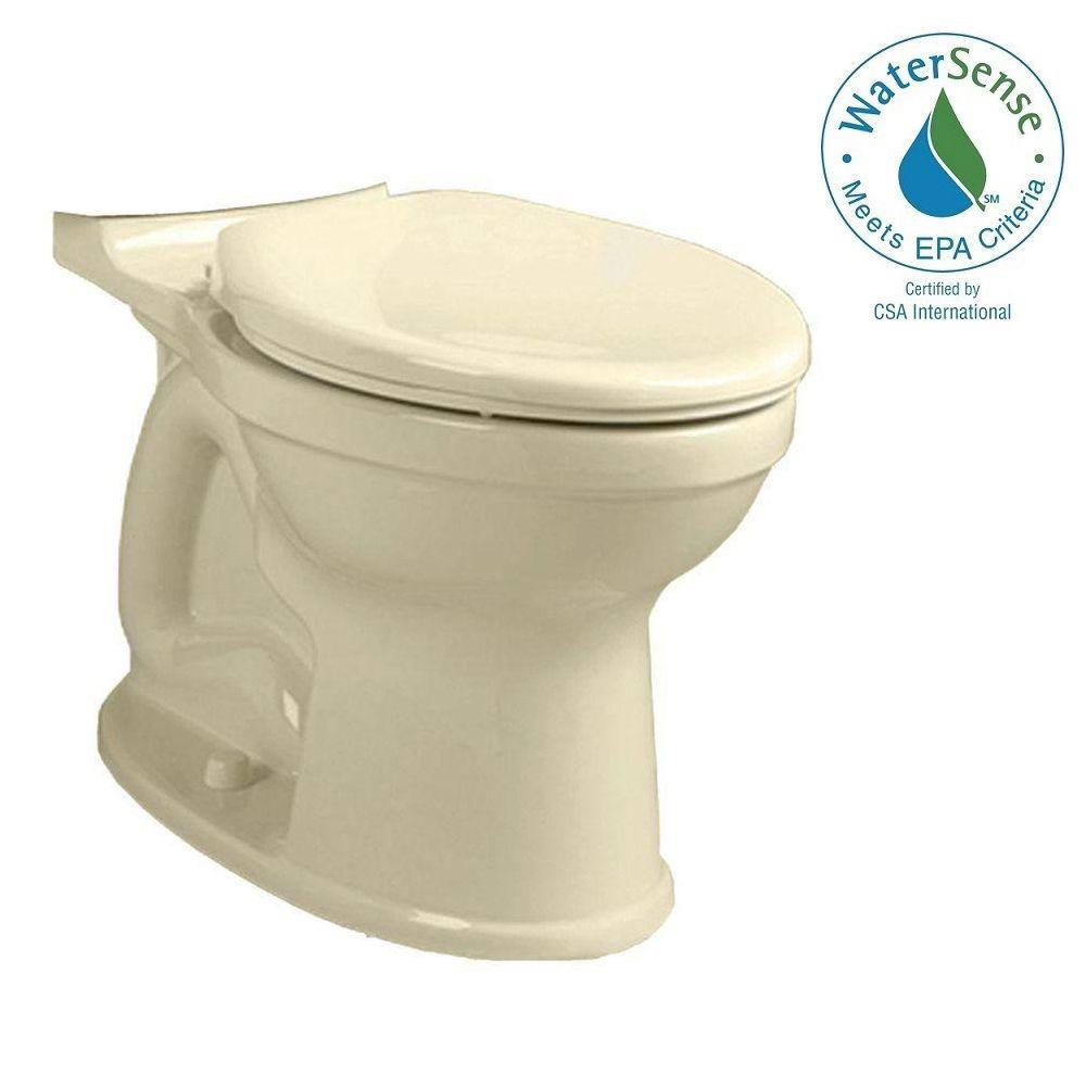 Champion 4 High Efficiency Chair Height Elongated Toilet Bowl Only in