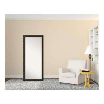 Signore Bronze Wood 29 in. W x 65 in. H Traditional Floor/Leaner Mirror