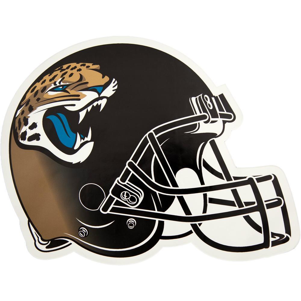 NFL Jacksonville Jaguars Outdoor Helmet Graphic- Large