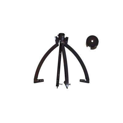 Miramar 60 in. Weathered Bronze Ceiling Fan Replacement Scroll Arm Assembly
