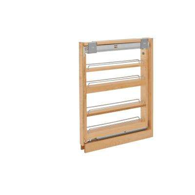30 in. H x 3 in. W x 23 in. D Pull-Out Between Cabinet Base Filler with Soft-Close Slides