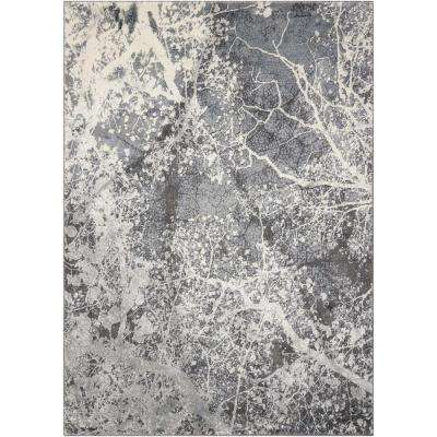 Maxell Grey 5 ft. 3 in. x 7 ft. 3 in. Area Rug