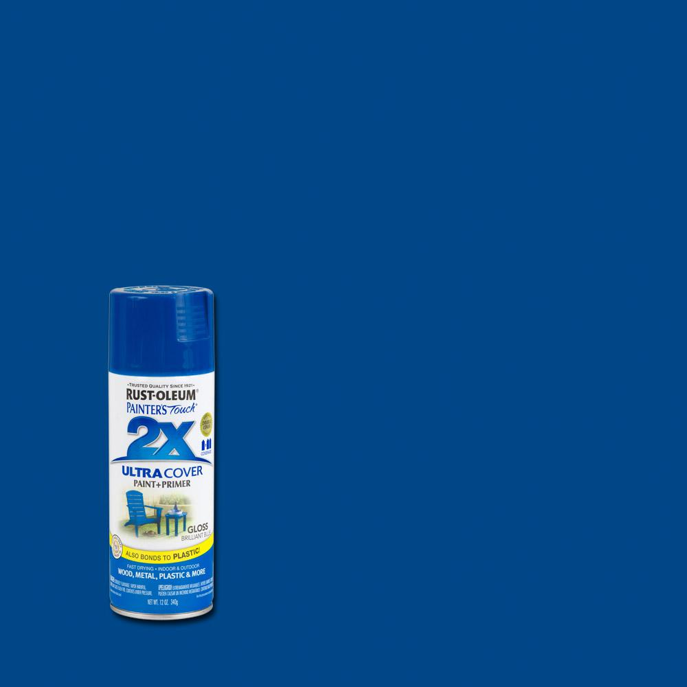 12 oz. Gloss Brilliant Blue General Purpose Spray Paint