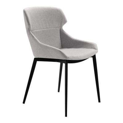 Kenna Gray Fabric Dining Chair - Set of 2