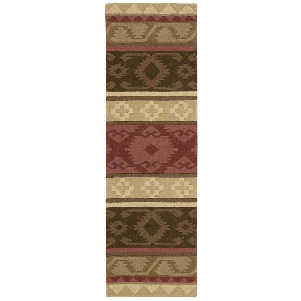 Nourison India House Espresso 2 ft. 3 in. x 7 ft. 6 in. Rug Runner