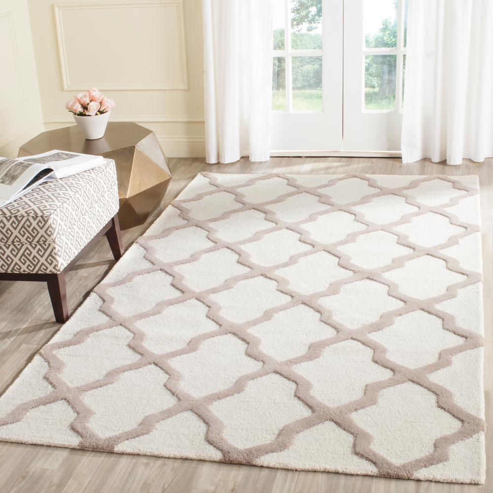 Cambridge Ivory/Beige 6 ft. x 9 ft. Area Rug