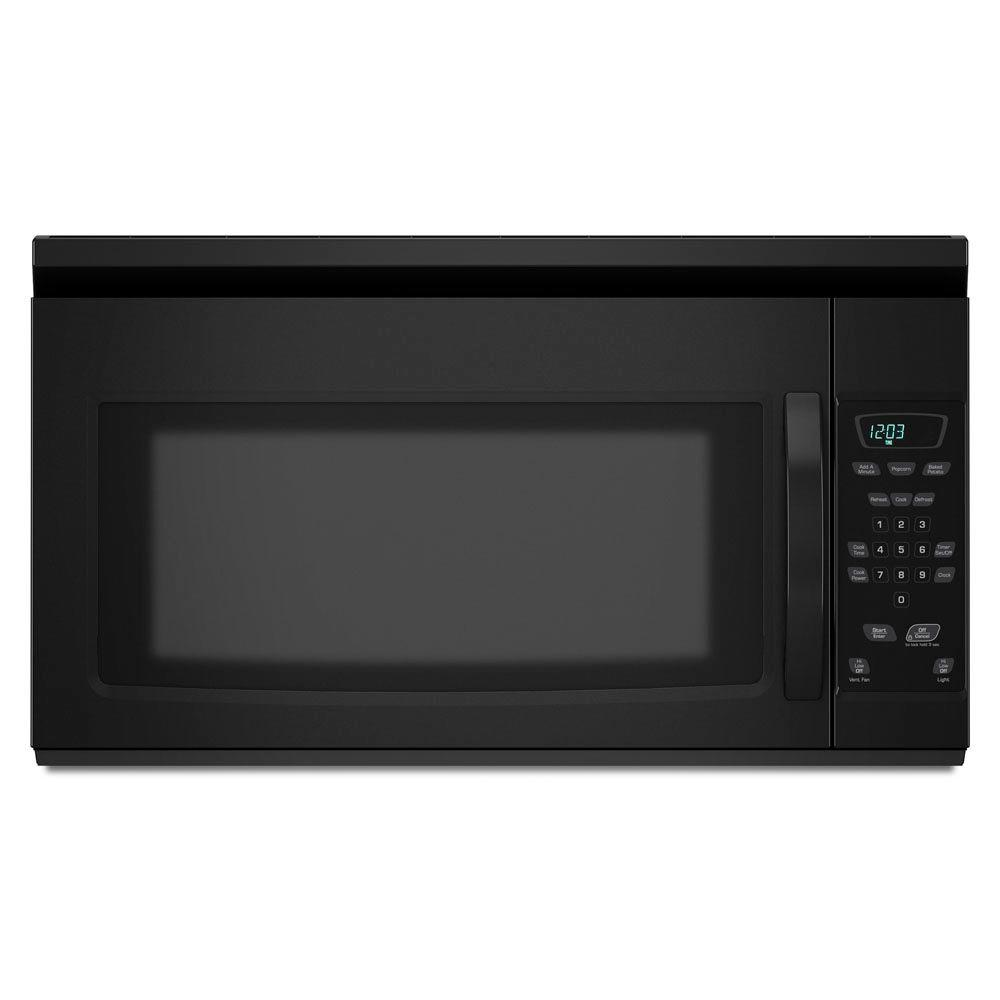 Amana 1.5 cu. ft. Over the Range Microwave in Black