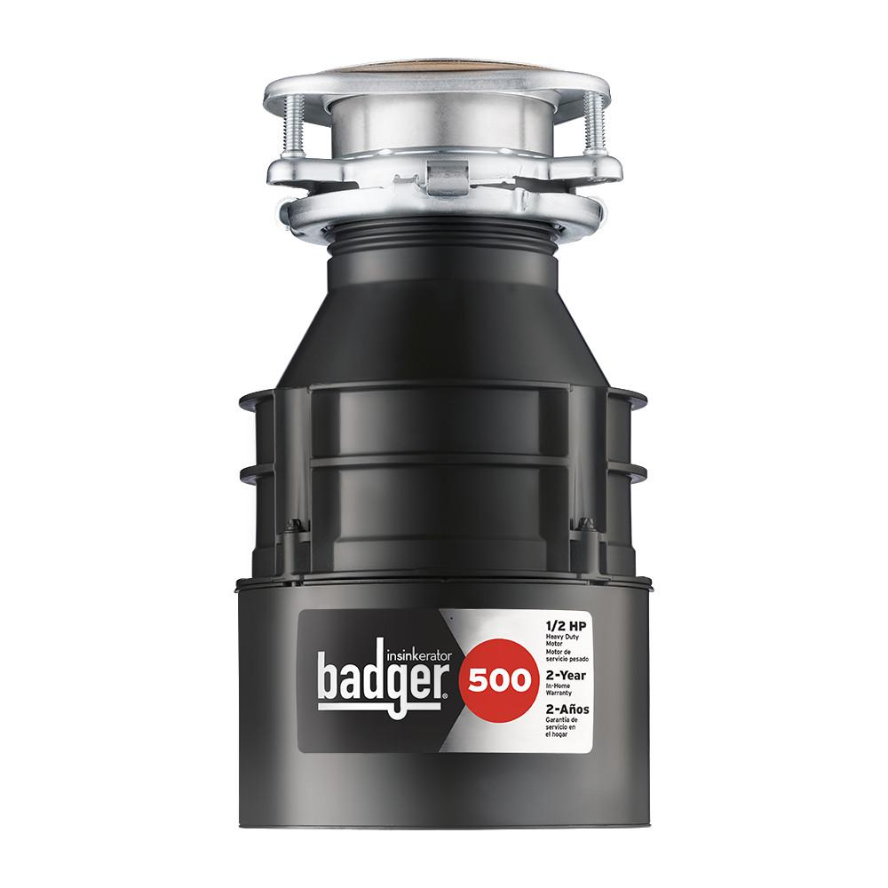 7d799faf9a7 InSinkErator Badger 500 1 2 HP Continuous Feed Garbage Disposal ...