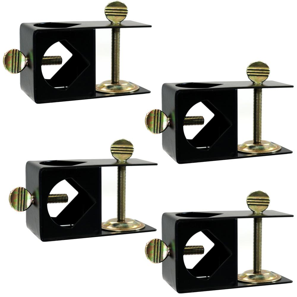 Deck Clamp For Outdoor Torches To Mount Handrail 4 Pack
