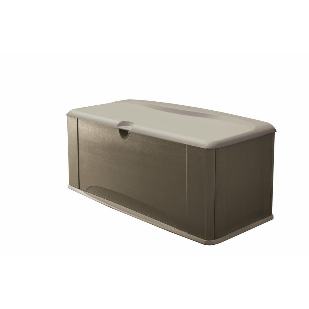 Rubbermaid 120 Gal. Deck Box with Seat