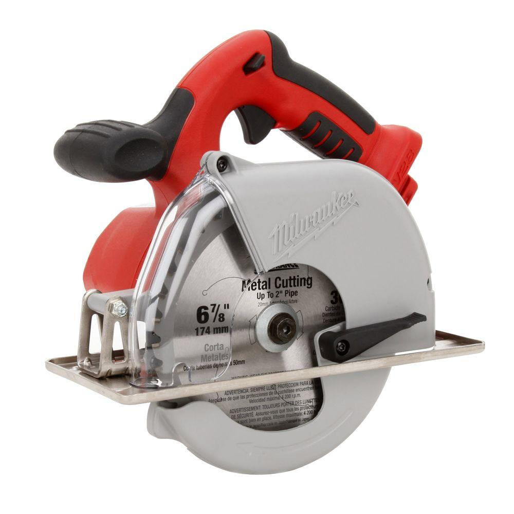 Milwaukee M28 28-Volt Lithium-Ion Cordless 6-7/8 in. Metal Cutting Circular Saw (Tool-Only)