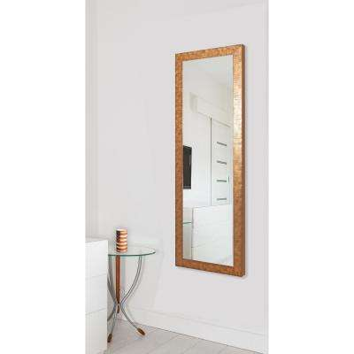24 in. x 62 in. Vanity Safari Bronze Non Beveled Vanity Full Body Mirror