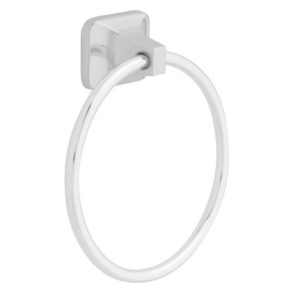Franklin Brass Futura Towel Ring In Chrome