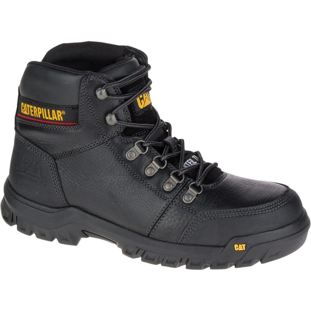 e0f2f67f6d2 Outline Men's Size 12W Black Steel Toe Work Boot
