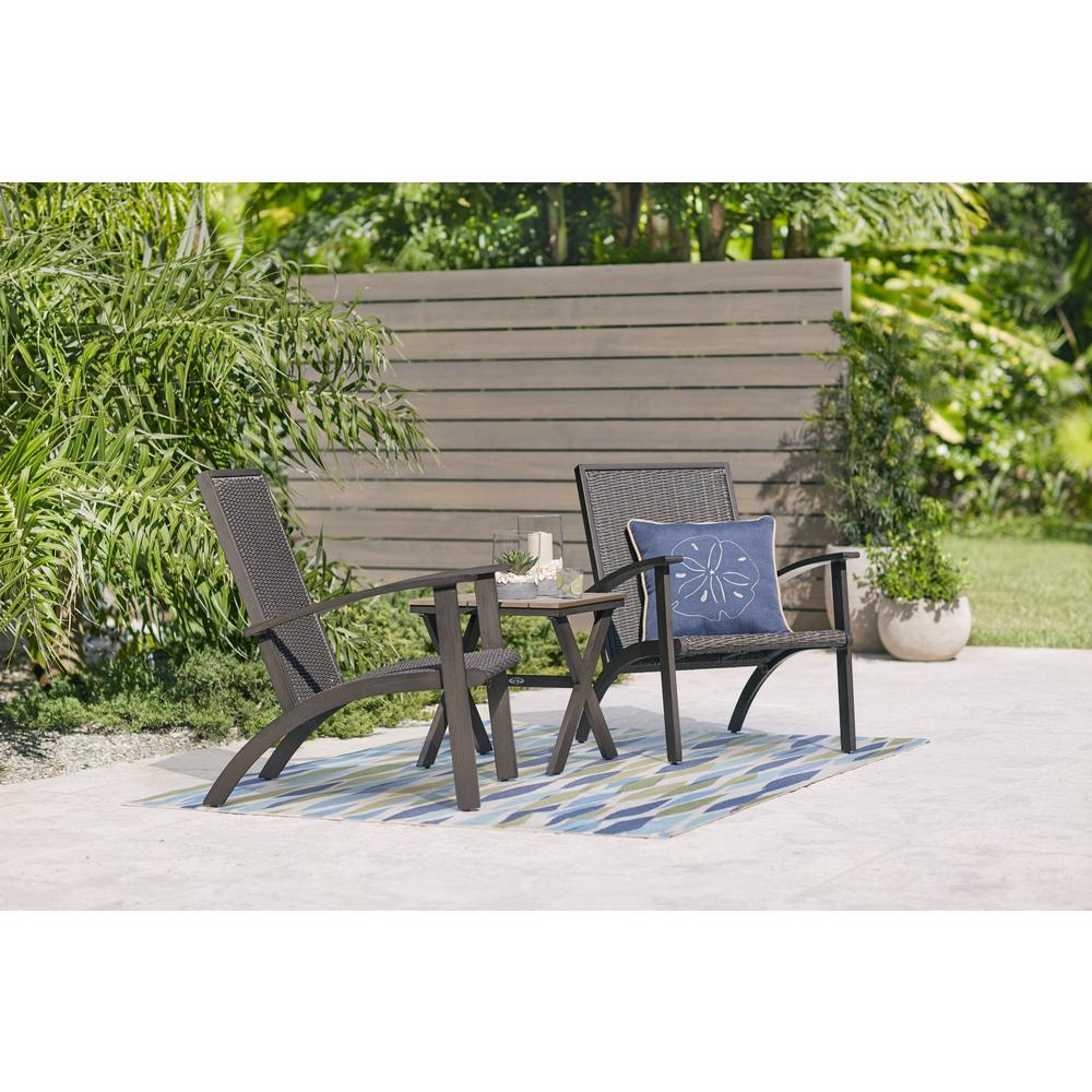 Brilliant Hampton Bay Shakopee 3 Piece Wicker Outdoor Bistro Set Ncnpc Chair Design For Home Ncnpcorg