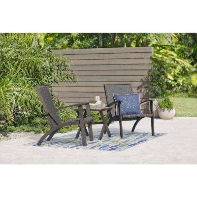 Shakopee 3-Piece Wicker Outdoor Bistro Set