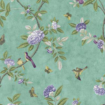 Jade Chinoiserie Removable Wallpaper