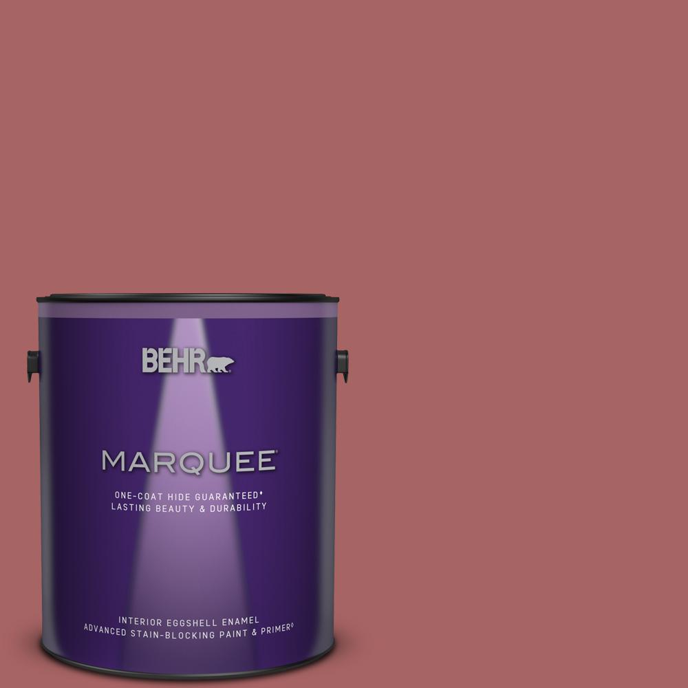 Behr Marquee 1 Gal Ppu1 06 Rose Marquee Eggshell Enamel Interior Paint Primer 245301 The Home Depot