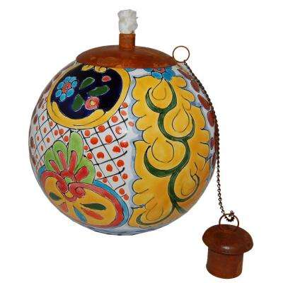 Talavera Acapulco Design Table Top Torch
