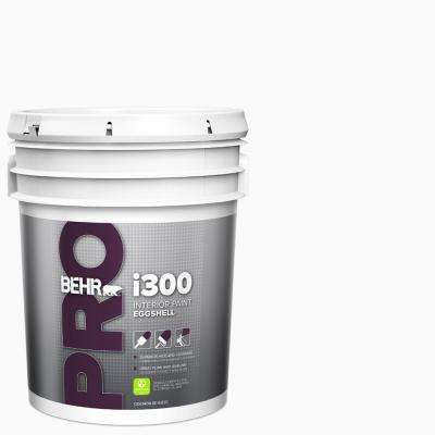 5 Gal I300 White Eggshell Interior Paint